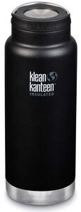 Klean Kanteen TKWide Wide Loop Cap Termospullo 946 ml, Shale Black