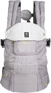 Lillebaby Complete Embossed Luxe Kantoreppu, Pewter