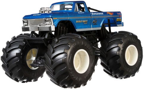 Hot Wheels Monster Trucks Bigfoot 1:24