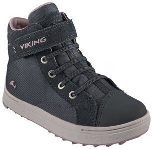 Viking Leah Mid GTX Tennarit, Dark Grey/Dusty Pink
