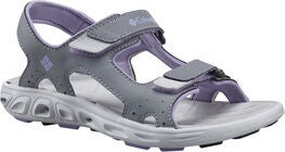 Columbia Children's Techsun Sandaalit, Grey/White Violet