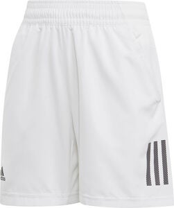Adidas Boys Club 3-Stripes Shortsit, White
