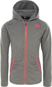 The North Face Mezzaluna Full-Zip Huppari, Tnf Medium Grey Heather