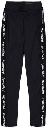 Hyperfied Tape Logo Tights, Anthracite