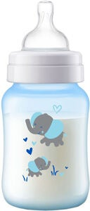 Philips Avent Anti-Colic Tuttipullo 260 ml, Sininen