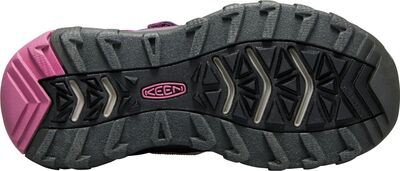 KEEN Terradorra Low WP Kengät, Boysenberry/Red