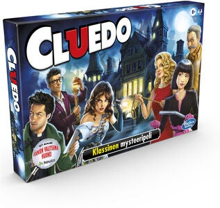 Hasbro Cluedo Peli The Classic Mystery Game