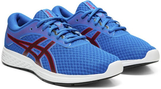 Asics Patriot 11 GS Lenkkarit, Electric Blue/Speed Red
