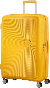 American Tourister Soundbox Spinner Matkalaukku 97L, Golden Yellow