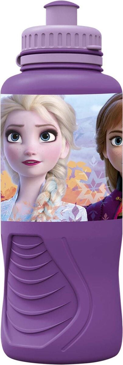 Disney Frozen Juomapullo 400 ml, Liila