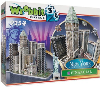 Wrebbit New York Financial District Palapeli
