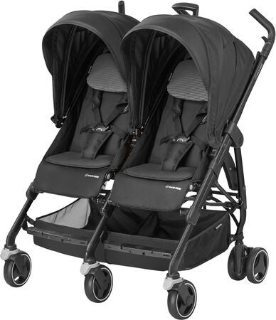 Maxi-Cosi Dana For 2 Sisarusrattaat, Black Raven