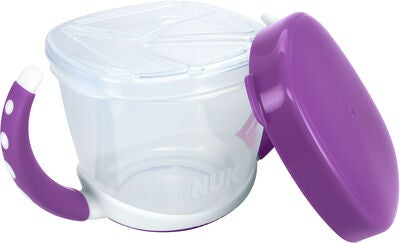 NUK Easy Learning Snack Box Eväsrasia, Violet