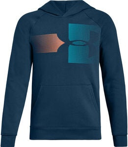 Under Armour Rival Logo Huppari, Techno Teal
