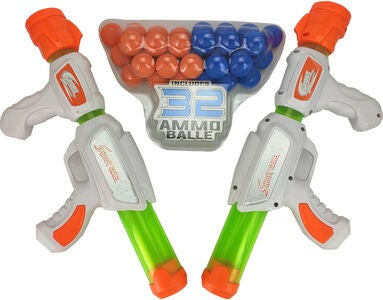 Fippla Atomic Power Popper Leikkiaseet 2-pack