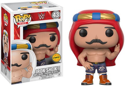 POP! WWE Keräilyhahmo Iron Sheik Old School