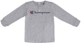 Champion Kids Crewneck Paita, Gray Melange Light