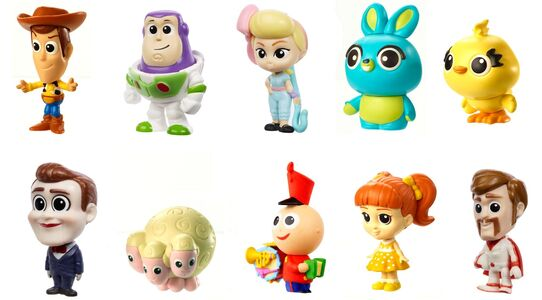 Disney Pixar Toy Story Minihahmo Ultimate New Friends 10-Pack
