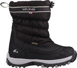Viking Windchill GTX Talvisaappaat, Black/Charcoal