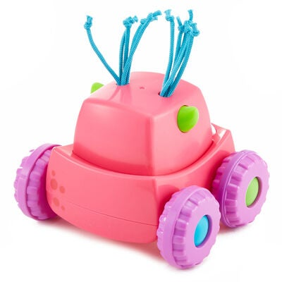 Fisher-Price Press 'n Go Monsteriauto, Vaaleanpunainen
