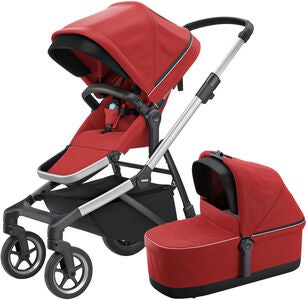 Thule Sleek Yhdistelmävaunut, Energy Red
